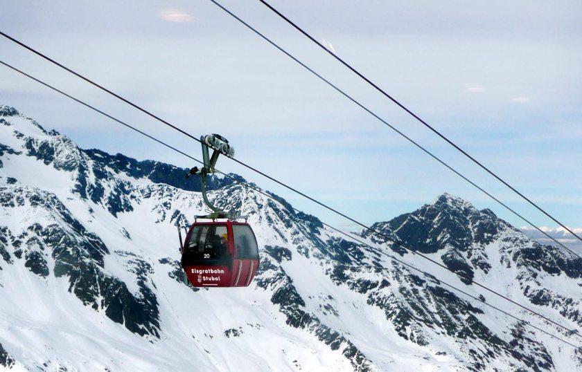 Eisgratbahn - Stubaier Gletscher