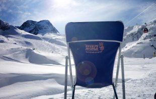 Liegestuhl Stubaier Gletscher