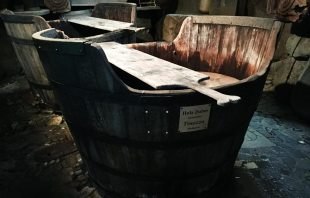 Holzwaschzuber