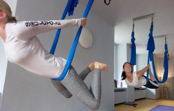 Aerial Yoga - Yogatage - Hotel Miramonte