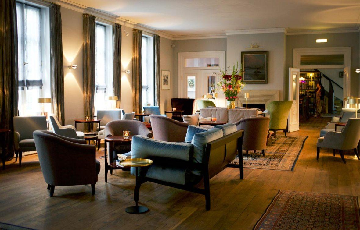 Kaminzimmer Hotel Louis C. Jacob Hamburg