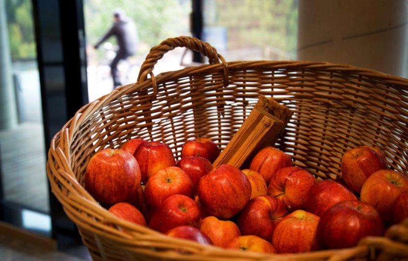 Apfelkorb Empfang Gradonna
