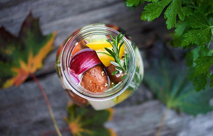 Rezept - Eingelegtes Gemüse im Schraubglas