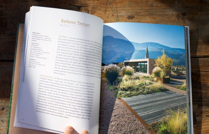 Buch WeinBau - Kellerei Terlan
