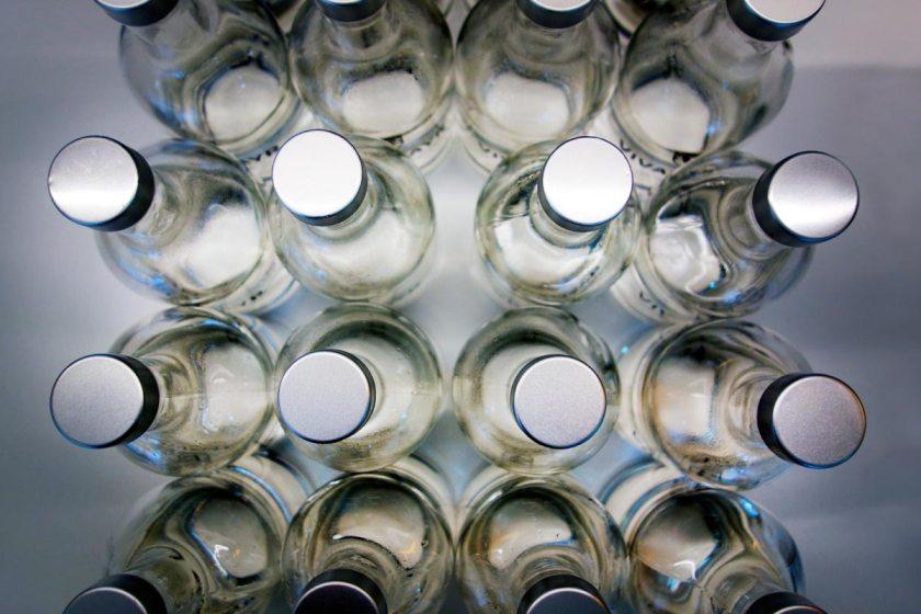 Vivamayr Altaussee Glaubersalzflaschen