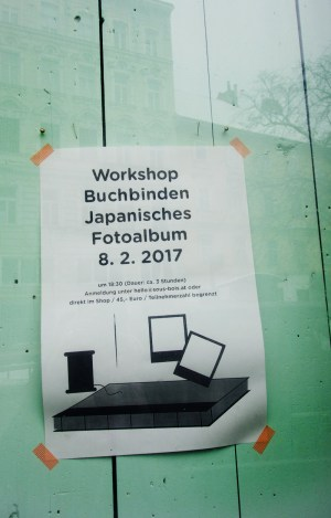 Stationary Store Sous-Bois Wien - Workshop Buchbinden