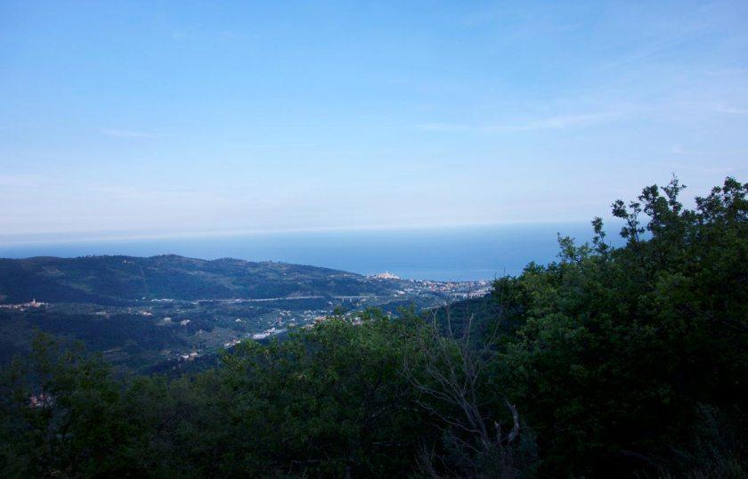 Ligurische Küste - Am Meer