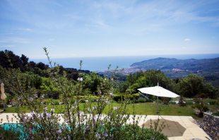 Che bella Vista Ferienhaus in Ligurien