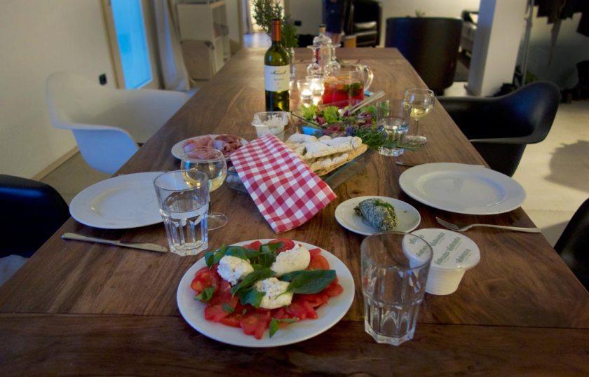 Italienisches Menü im Che Bella Vista
