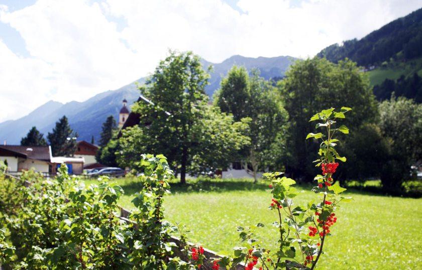 Neustift im Stubai - Blick zum Schönherrhaus