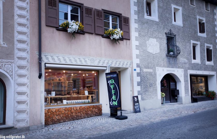 Shopping in Pontresina – Laudenbacher