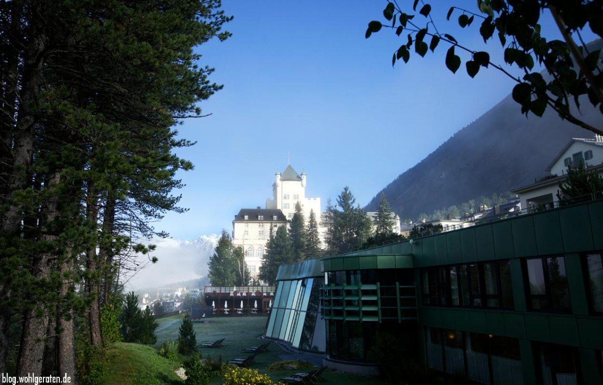 Umgebung Grandhotel Kronenhof Pontresina