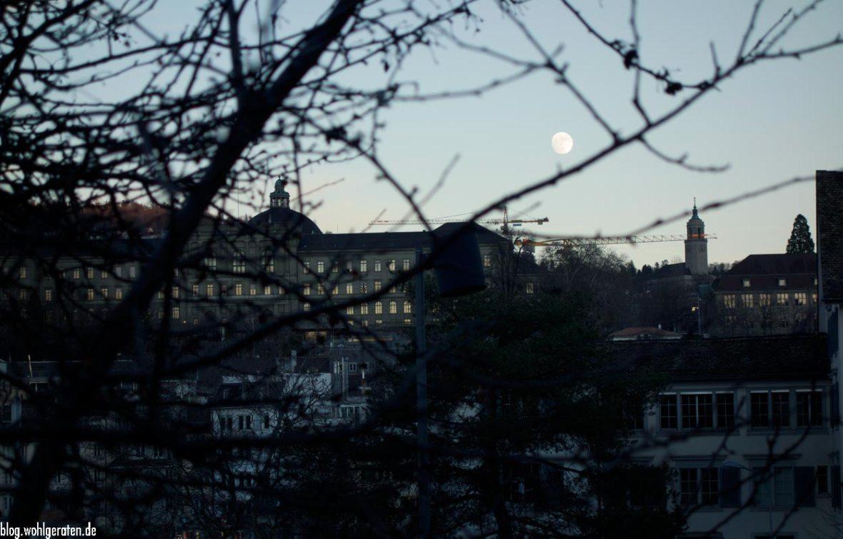 Zürich - Stadtansicht im Winter