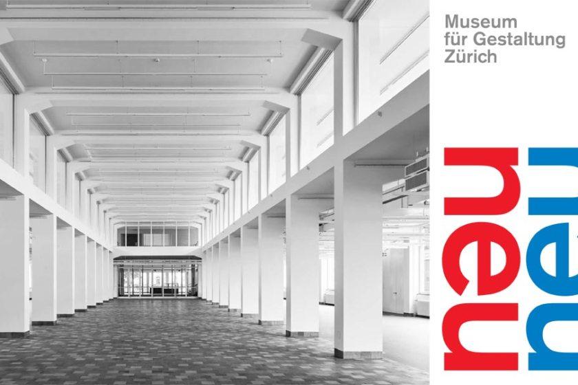 Einladung Wiedereröffnung Museum für Gestaltung Zürich