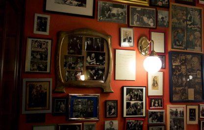 Eingang Restaurant Fromme Helene Wien
