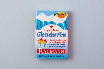 Zündholzschachtel Gletscher Eis