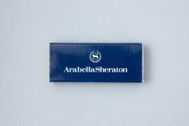 Streichholzschachtel Hotel Arabella Sheraton München