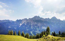 Panorama Tannheimer Tal