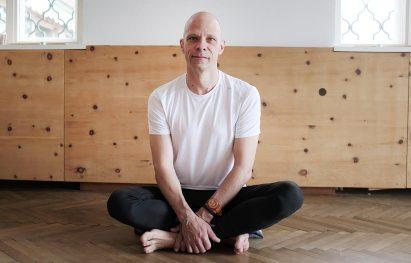 Yogalehrer Klaus Ewert