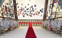 Treppenhaus- Textilmuseum St. Gallen