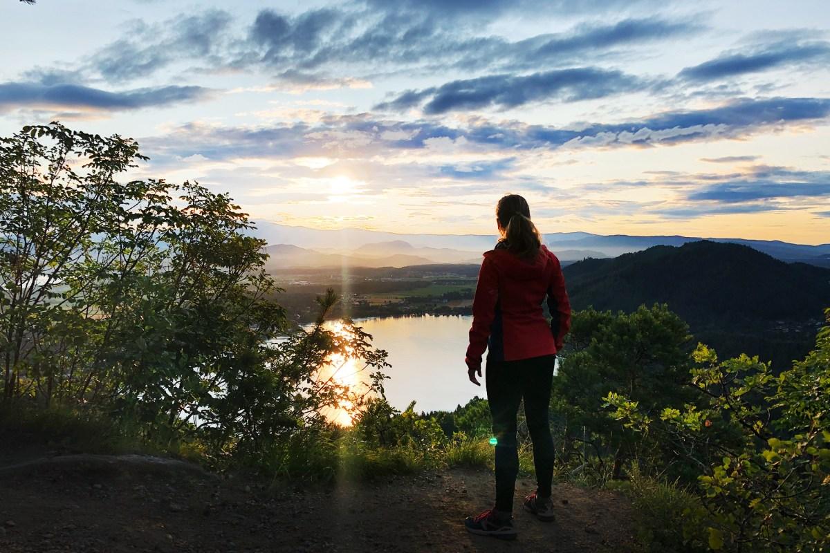 Sonnenaufgang am Klopeinersee – Bianca