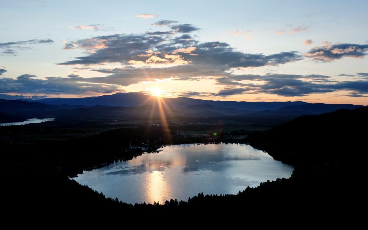Sunrise Klopeinersee
