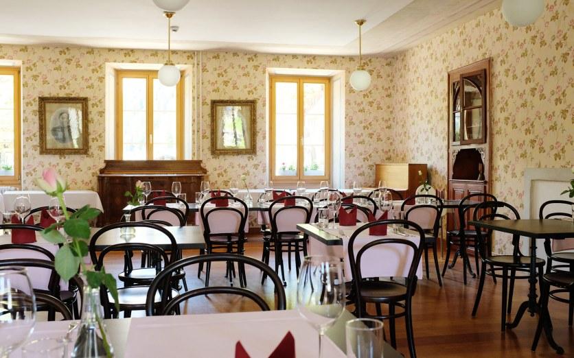 Hotel Ofenhorn - Historischer Speisesaal