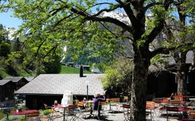 Hotel Ofenhorn - Terrasse