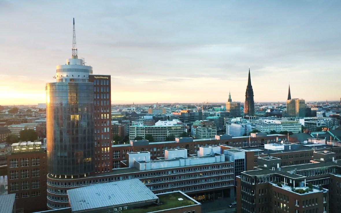 Hamburg – Blick von der Elbphilharmonie