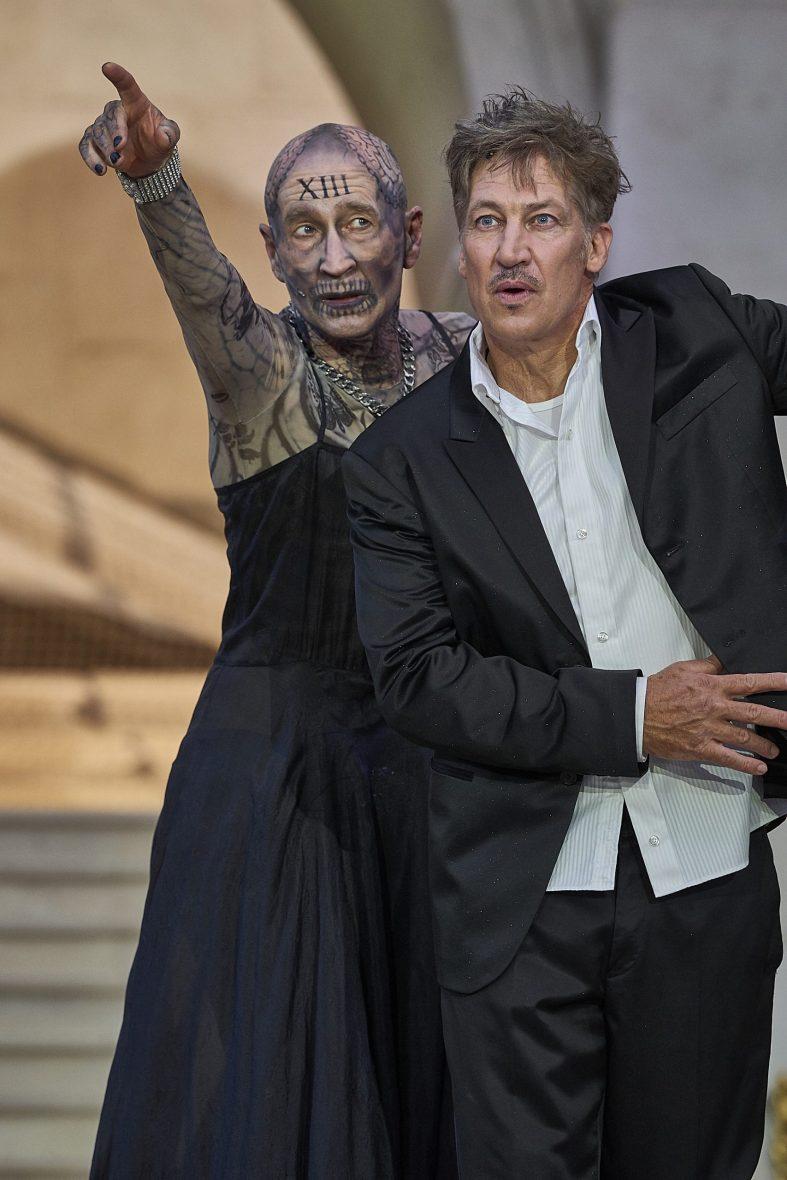 Salzburger Festspiele - Peter Lohmeyer und Tobias Moretti im Jedermann - Foto: Salzburger Festspiele Matthias Horn