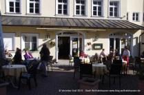 Rathauscafé außen, Wolfratshausen