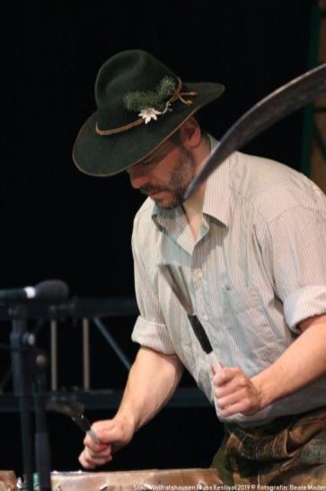 Fluss Festival 2019 Toni Bartls Alpin Drums 021