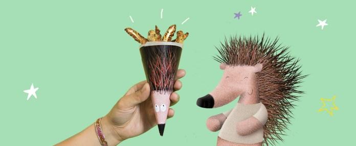 Header - delightful birthday snack, healthy, Veg-hogs
