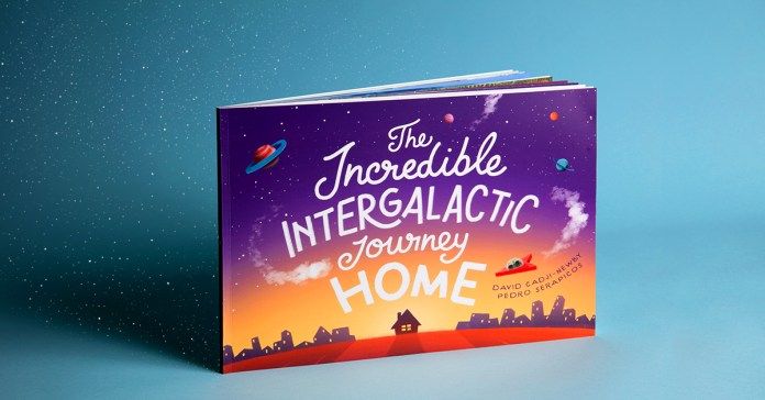 the journey home personalised story