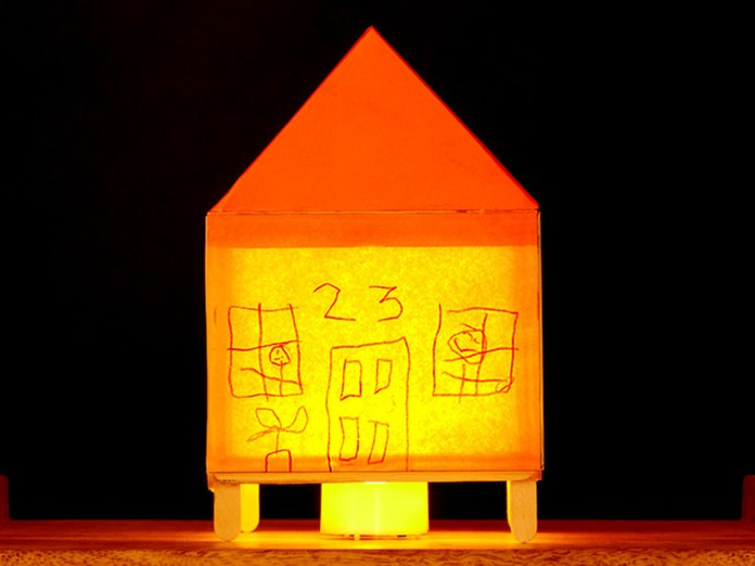 Glow Home Craft Activity