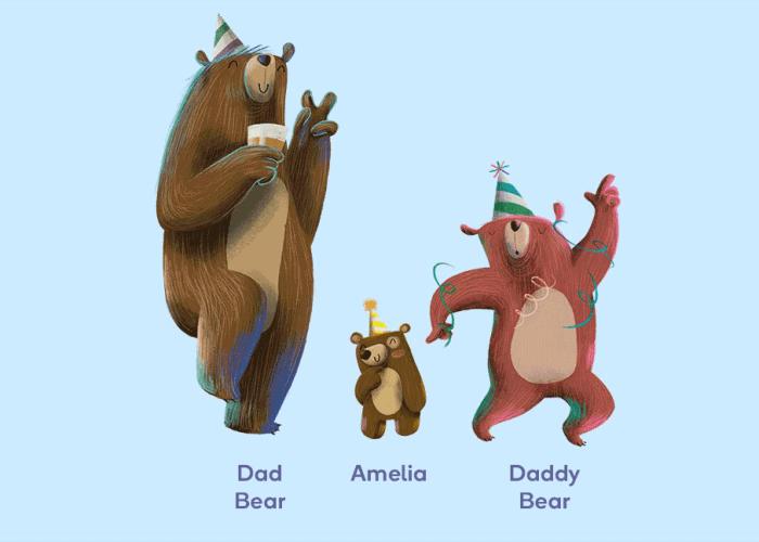 Littlest Bear family