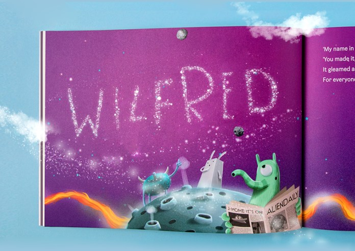 The Journey home name in the stars spread (Wilfred)