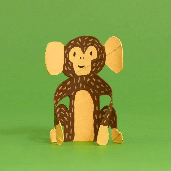 monkey toilet paper