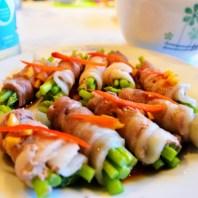 蘆筍豬肉捲5