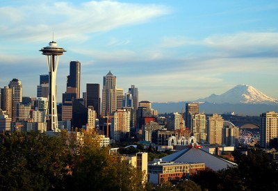 Seattle skyline: Getting a family child care license in Washington State