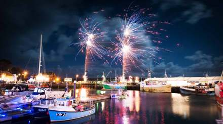 Padstow-Christmas-Festival-Fireworks