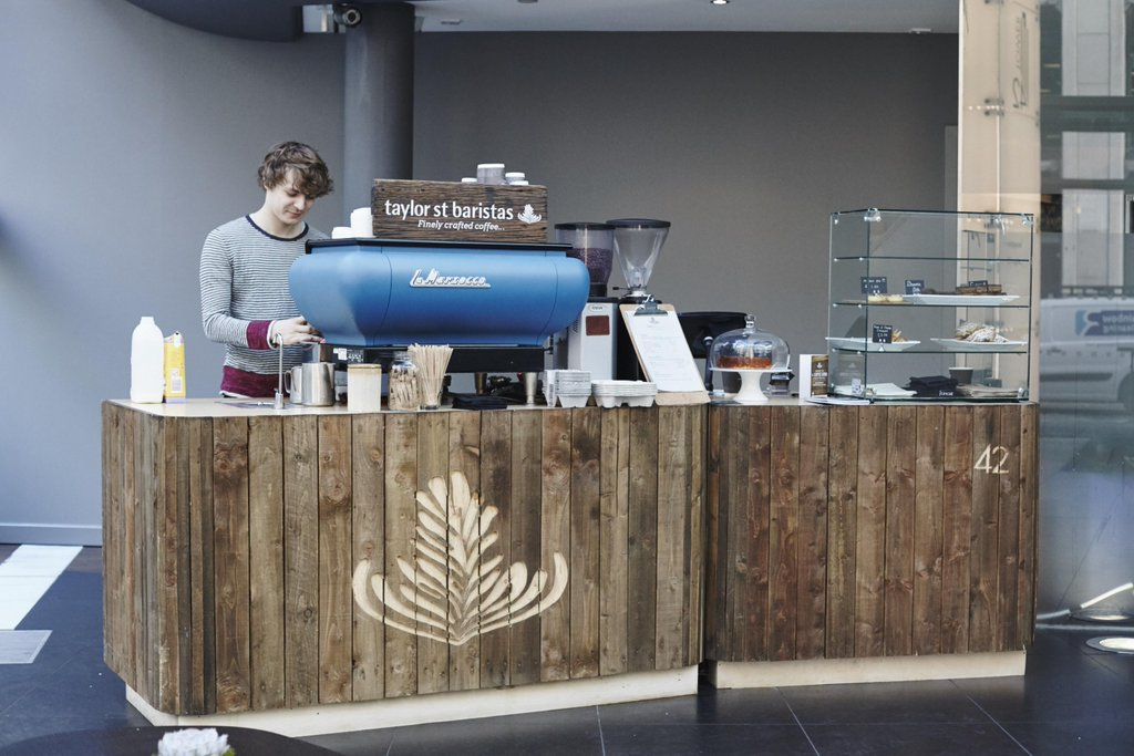 Best UK coffee cafes - Taylor St Barista coffee