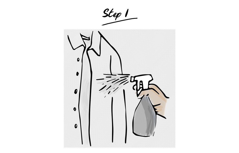 How-to-iron-a-shirt-step-1