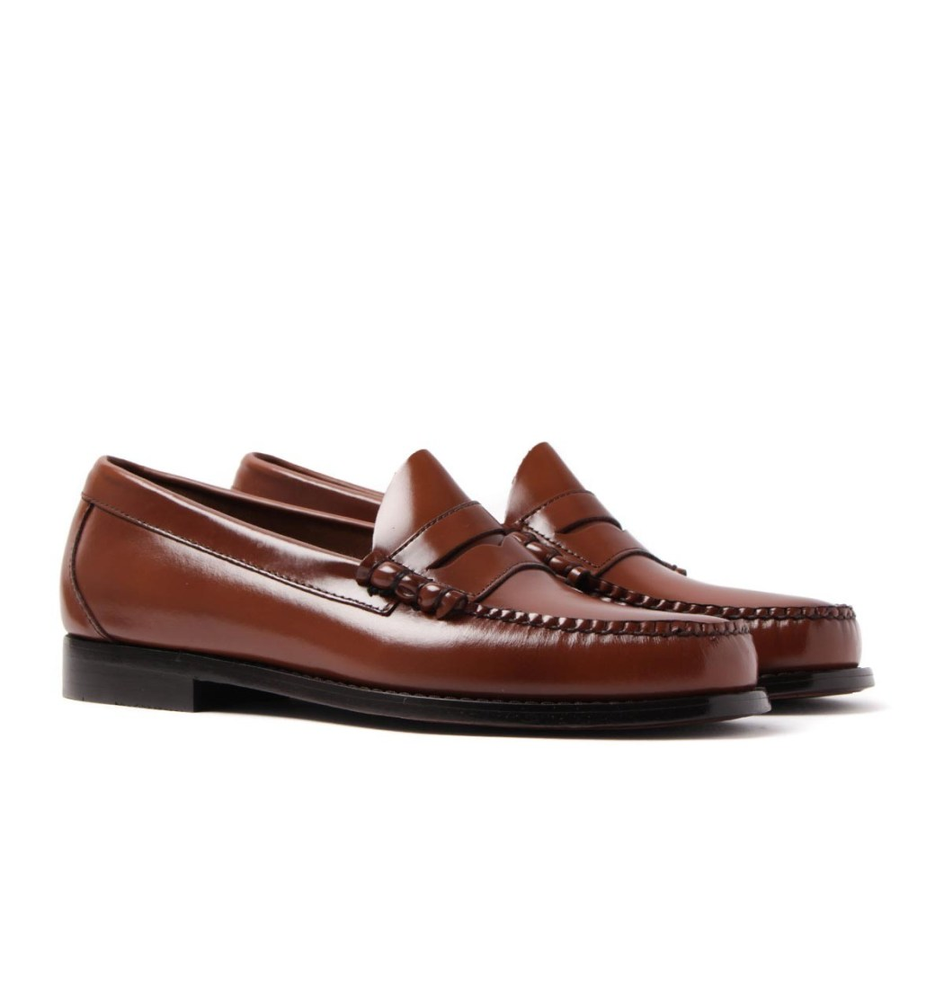 Bass penny loafer shoes