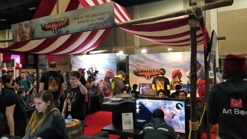 Larian PAX South 2018 Booth