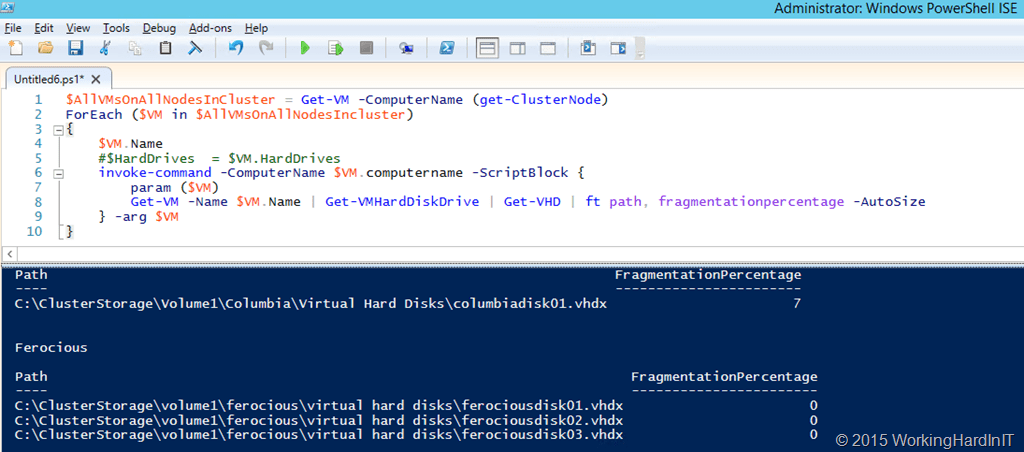 Hyper-V and Disk Fragmentation - Working Hard In ITWorking Hard In IT