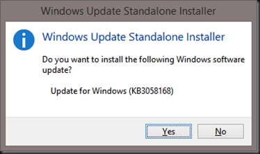 KB3058168: Update that enables Windows 8 1 and Windows 8 KMS hosts