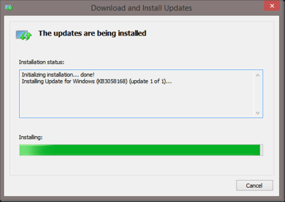 Kb3058168 update that enables windows 81 and windows 8 kms hosts image ccuart