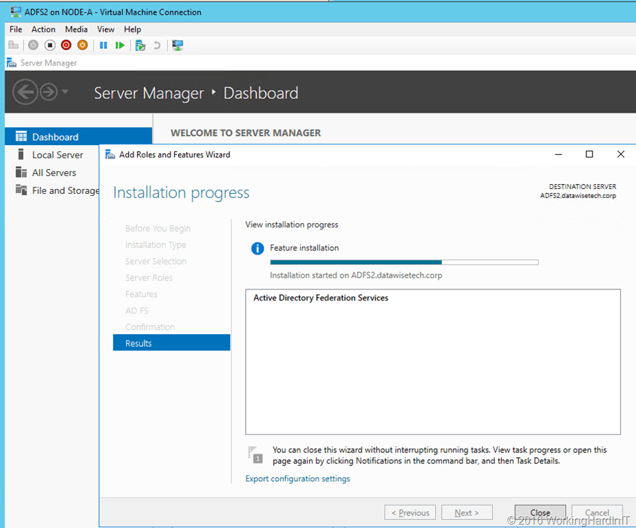 Migrate a Windows Server 2012 R2 AD FS farm to a Windows Server 2016