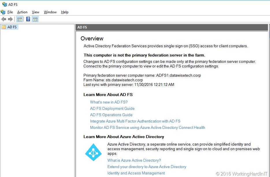 Migrate a Windows Server 2012 R2 AD FS farm to a Windows